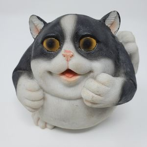 Cat Home Ceramic Decor Piggy Bank